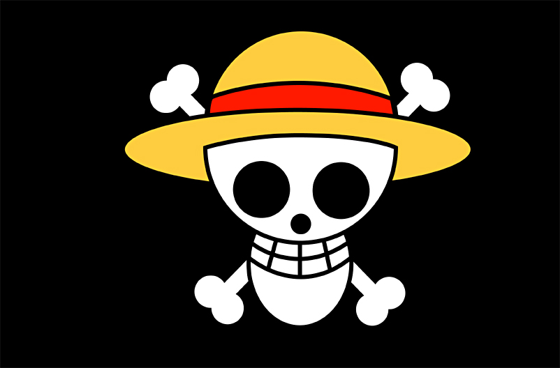 image gallery luffy flag
