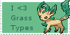 Grass Love Stamp by Zahuranecs
