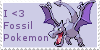 Fossil Love Stamp by Zahuranecs