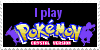 I Play Pokemon Crystal Stamp by Zahuranecs