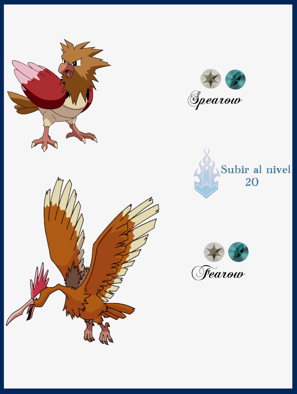 Pokemon Spearow Evolution Images | Pokemon Images