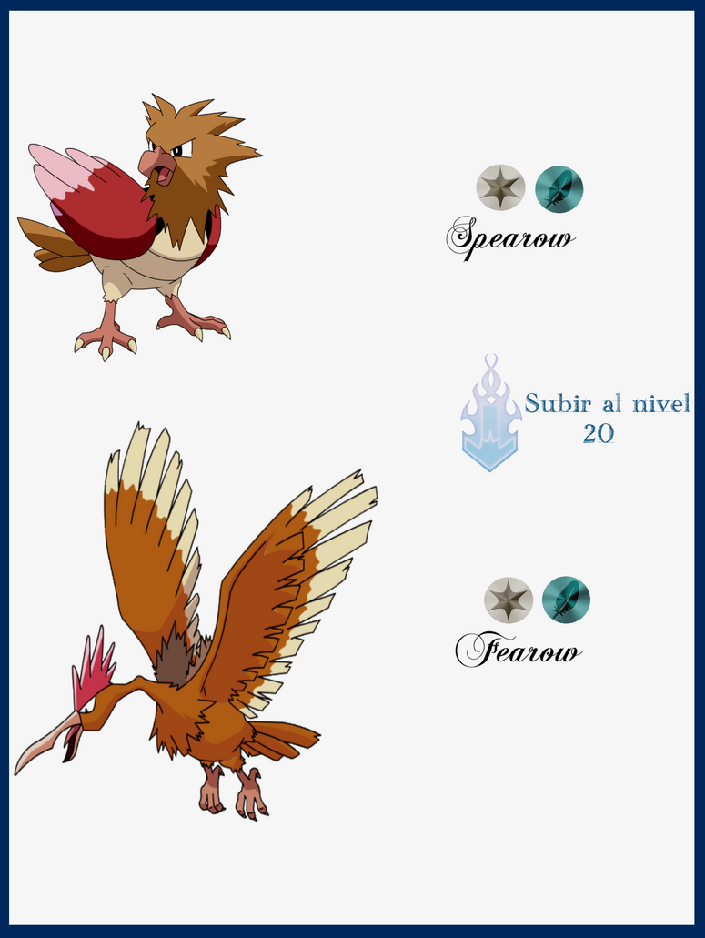 008 spearow evoluciones by maxconnery on deviantart