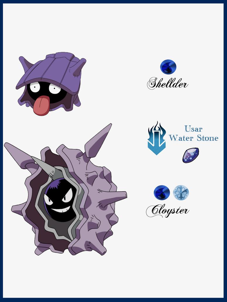 Shellder Pokemon Fusion Images