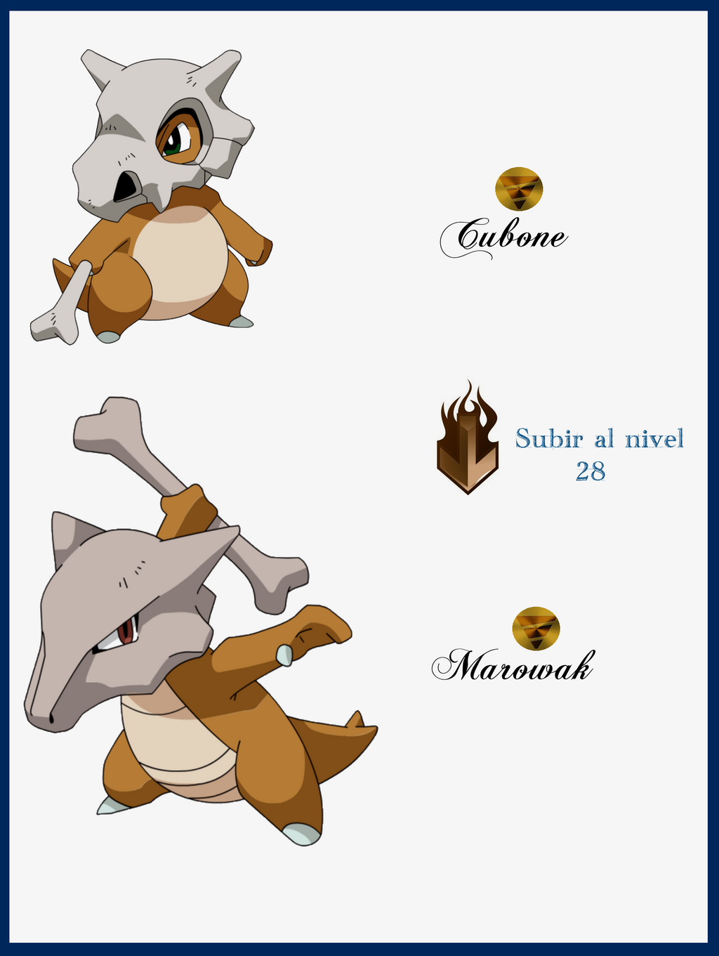 046 cubone evoluciones by maxconnery on deviantart