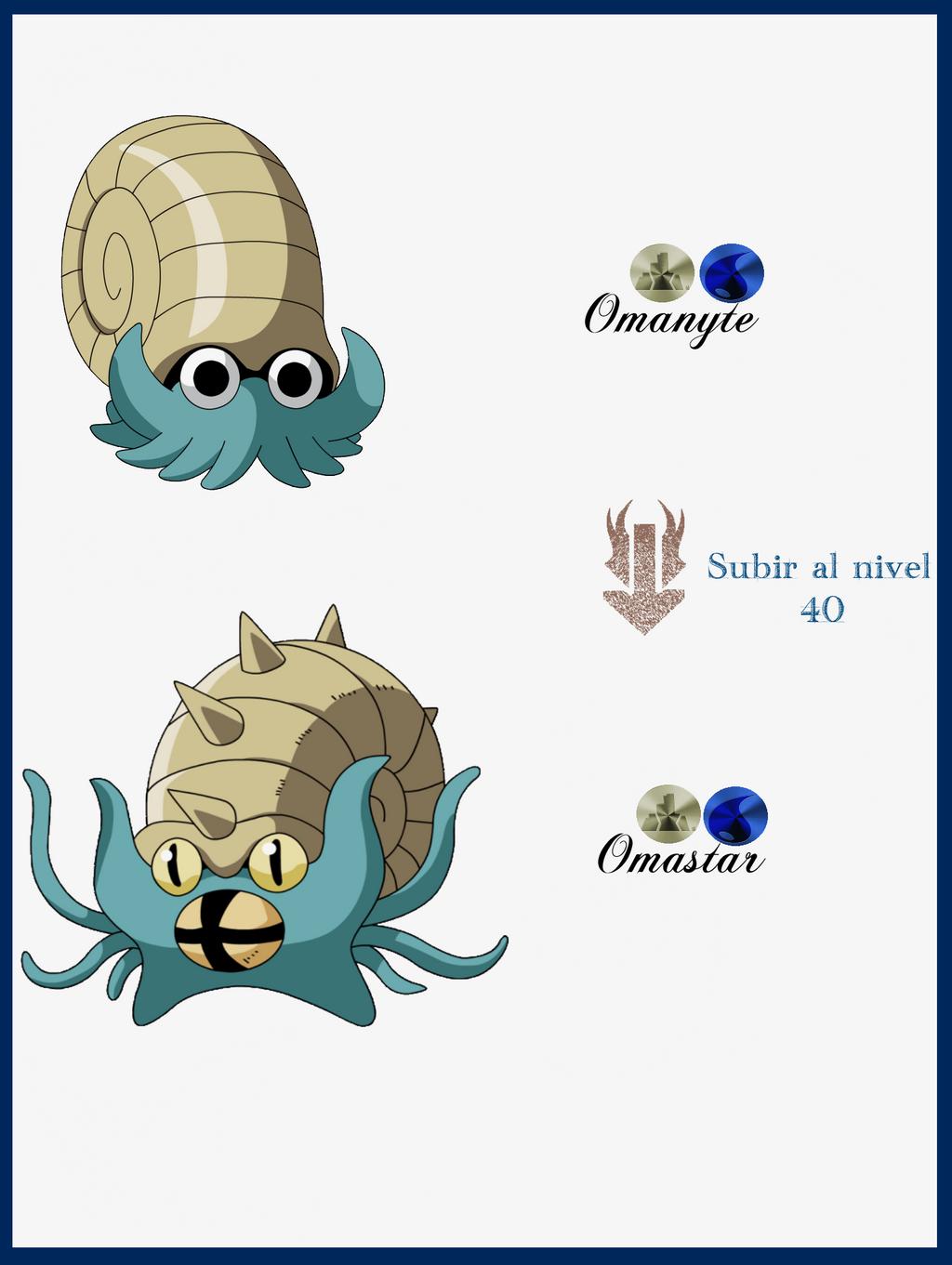 Pokemon Omanyte Evolution Images | Pokemon Images