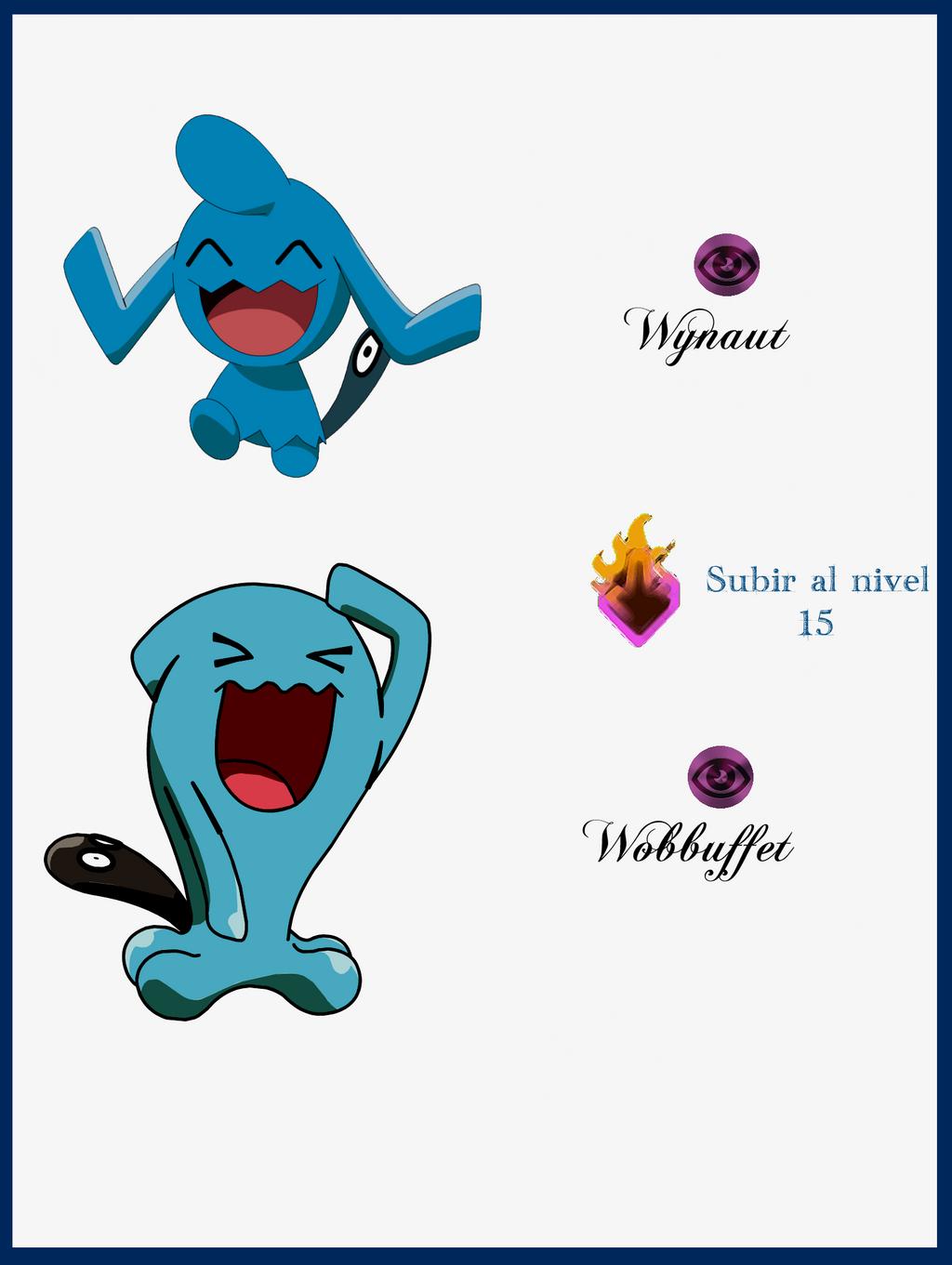 095 Whynaut Evoluciones by Maxconnery on DeviantArt Wailmer Pokemon Evolution Chart