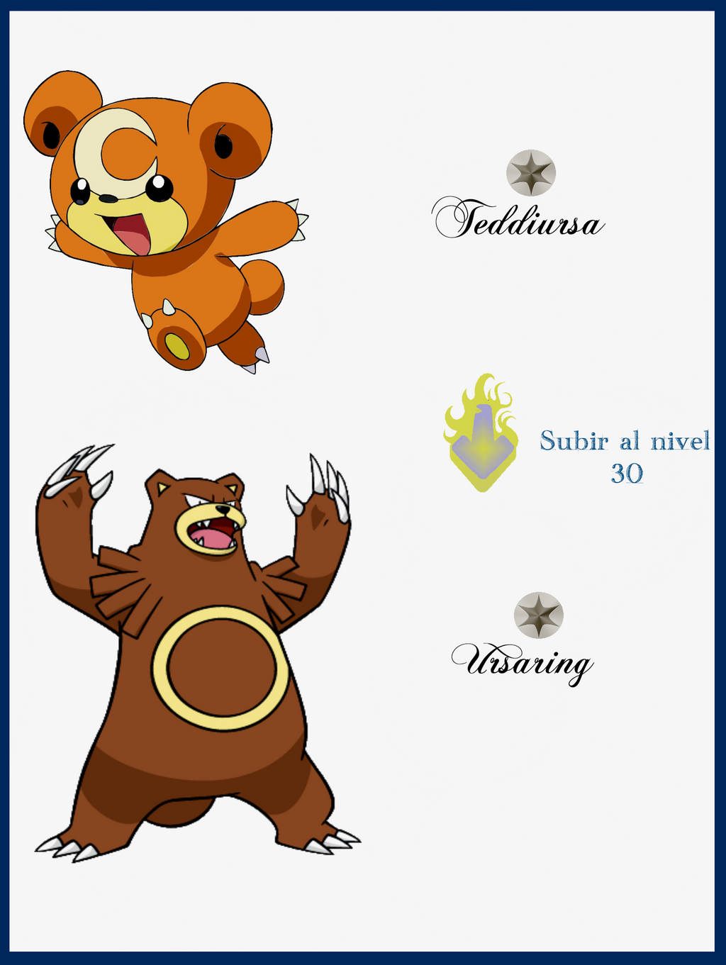 105 Teddiursa Evoluciones by Maxconnery on DeviantArt