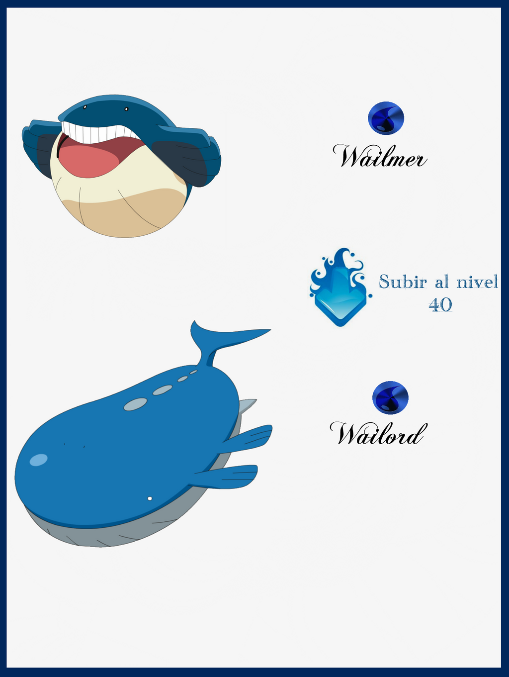 150 Wailmer Evoluciones by Maxconnery on DeviantArt Wailmer Pokemon Evolution Chart