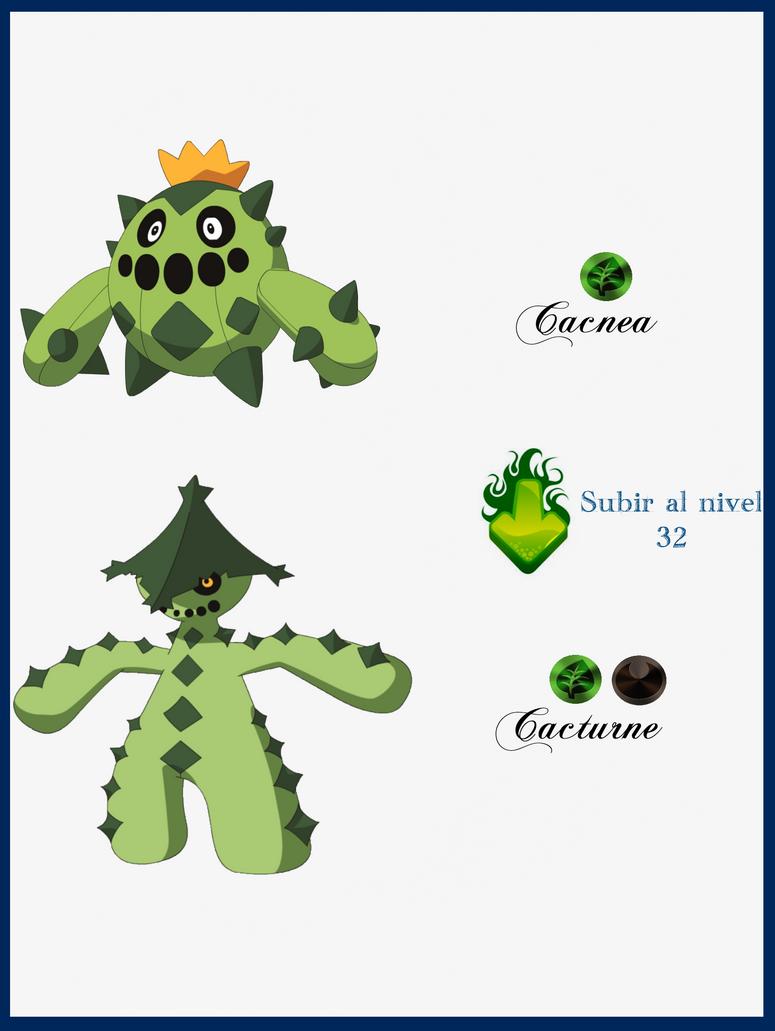 Pokemon Cacnea Evolution Images | Pokemon Images