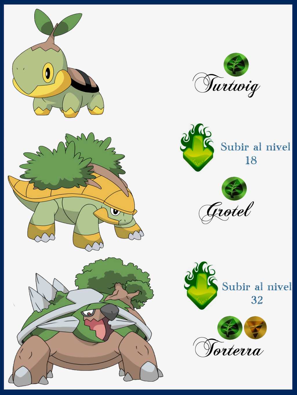 Pokemon Turtwig Evolution Chart Images | Pokemon Images