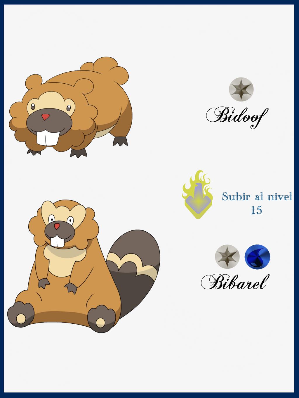 Pokemon Bibarel Evolution Images | Pokemon Images