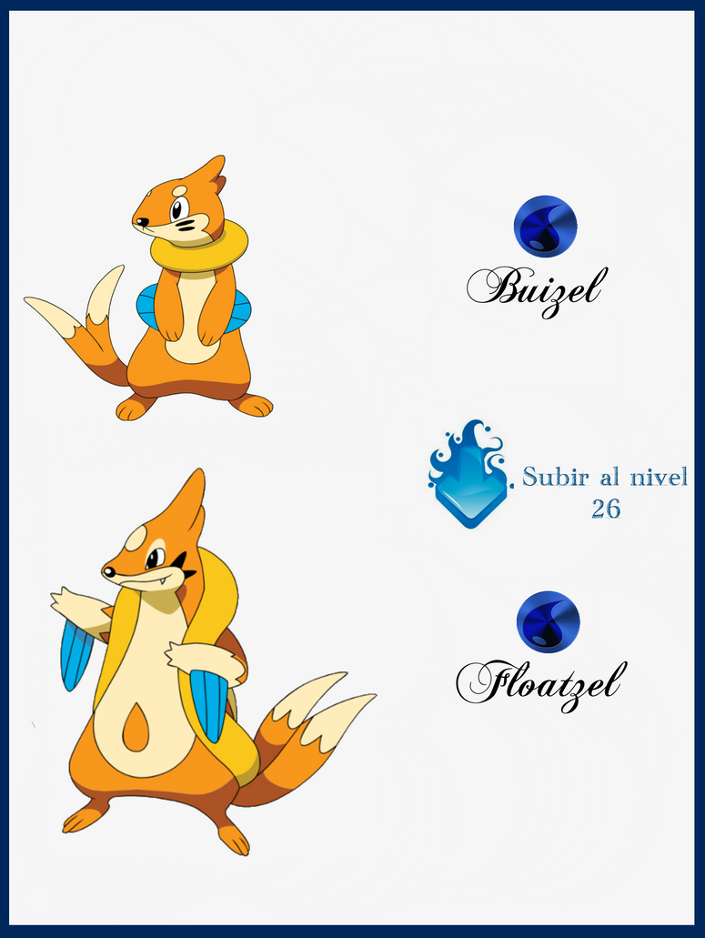 Buizel Evolution | www.imgkid.com - The Image Kid Has It!