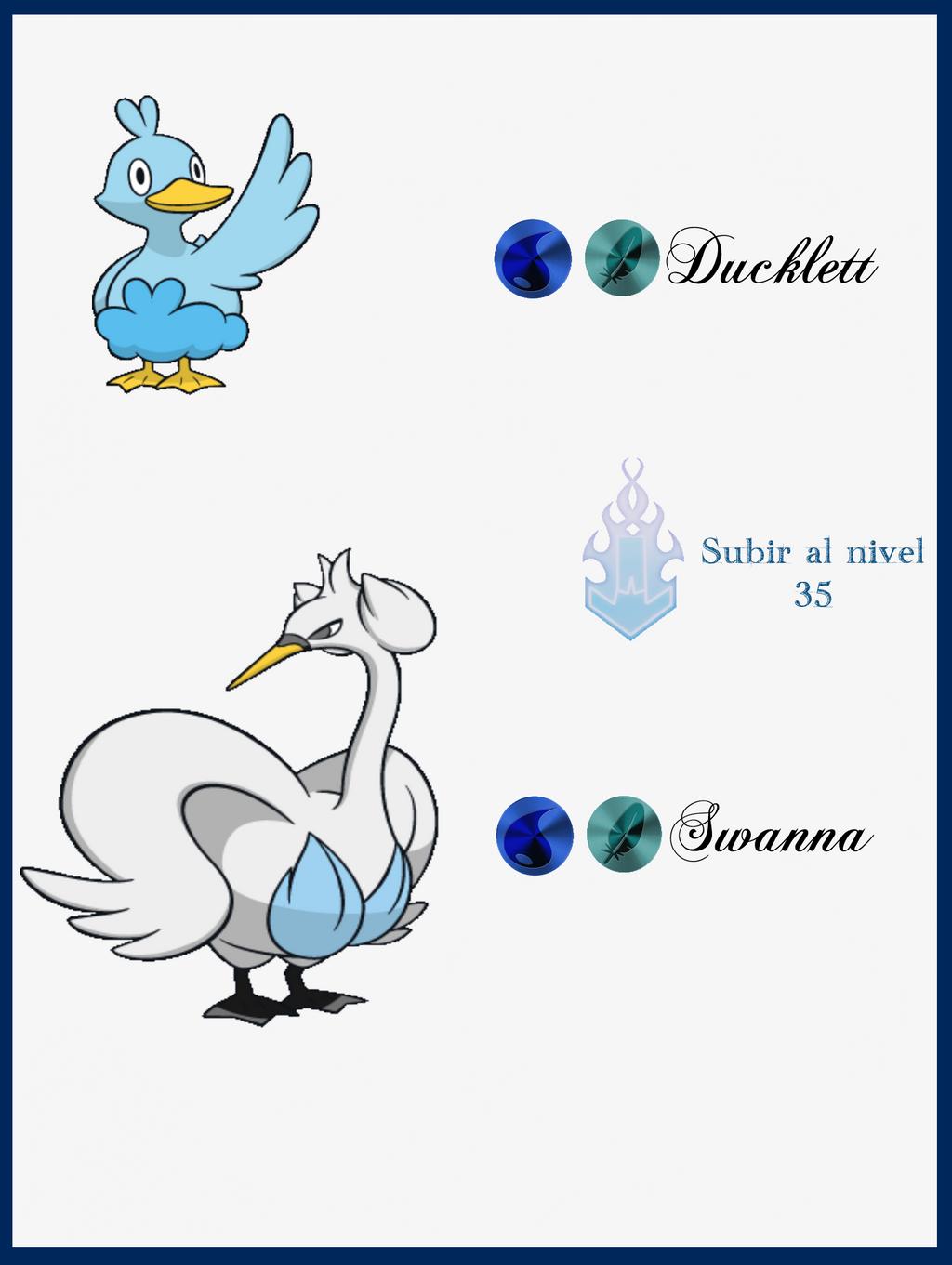 252 Ducklett Evoluciones by Maxconnery on DeviantArt