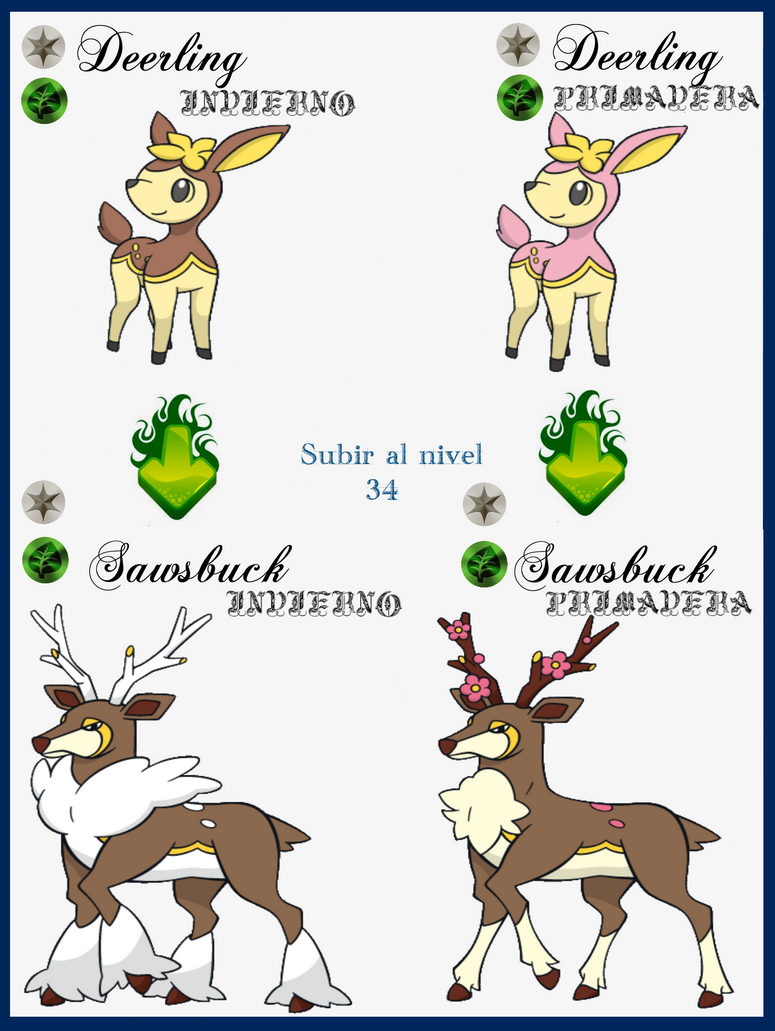 Deerling Images | Pokemon Images