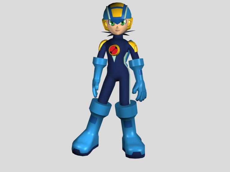 Mega Man by Dante-Flame