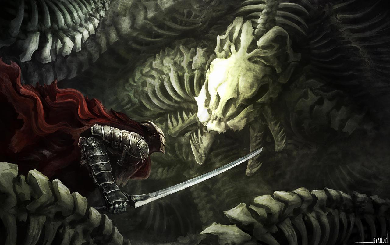 Crimson Knight by Eyardt