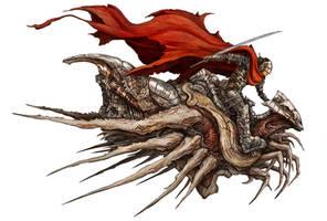 Crimson Rider by Eyardt