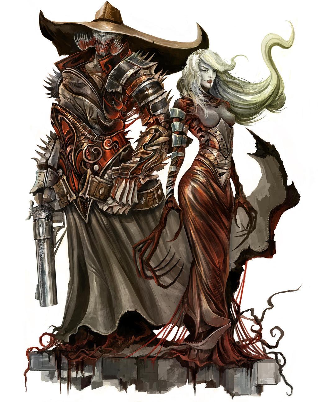 Galeria de Arte: Ficção & Fantasia 1 - Página 2 Vampires___shattered_rpg_by_eyardt-d7msmi2