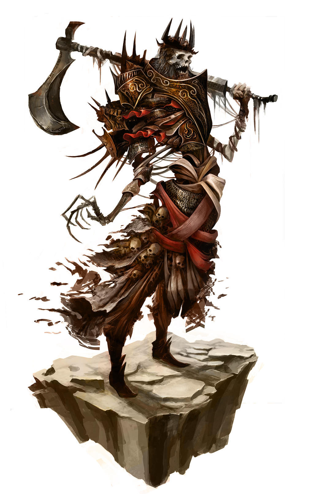 Galeria de Arte: Ficção & Fantasia 1 - Página 2 King_urgl___the_axe_butchor_by_eyardt-d7onfcc