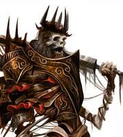 King Urgl', the Axe Butchor (portrait) by Eyardt