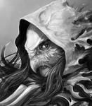 Tempus Ren - Riella Red Hooded Huntress Close Up