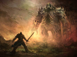 Bound by Flame - Daddy Juggernaut by Eyardt