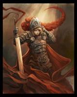 Young Troll Swordslayer by Eyardt