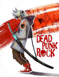 Dead Punk Rock - Skullboy by Eyardt