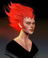 Redhead sculpt by Eyardt