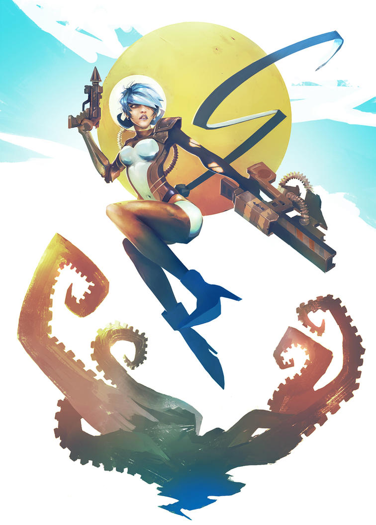 Pop Space Scout and the Sticky Alien Tentacles by Eyardt