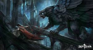 Gargoyles of Notre-Dame - Iron Blade - Gameloft by Eyardt