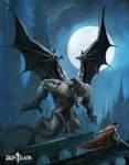 Gargoyle Monster - Iron Blade - Gameloft