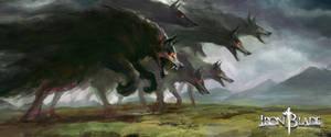 Bargust wolves - Iron Blade - Gameloft