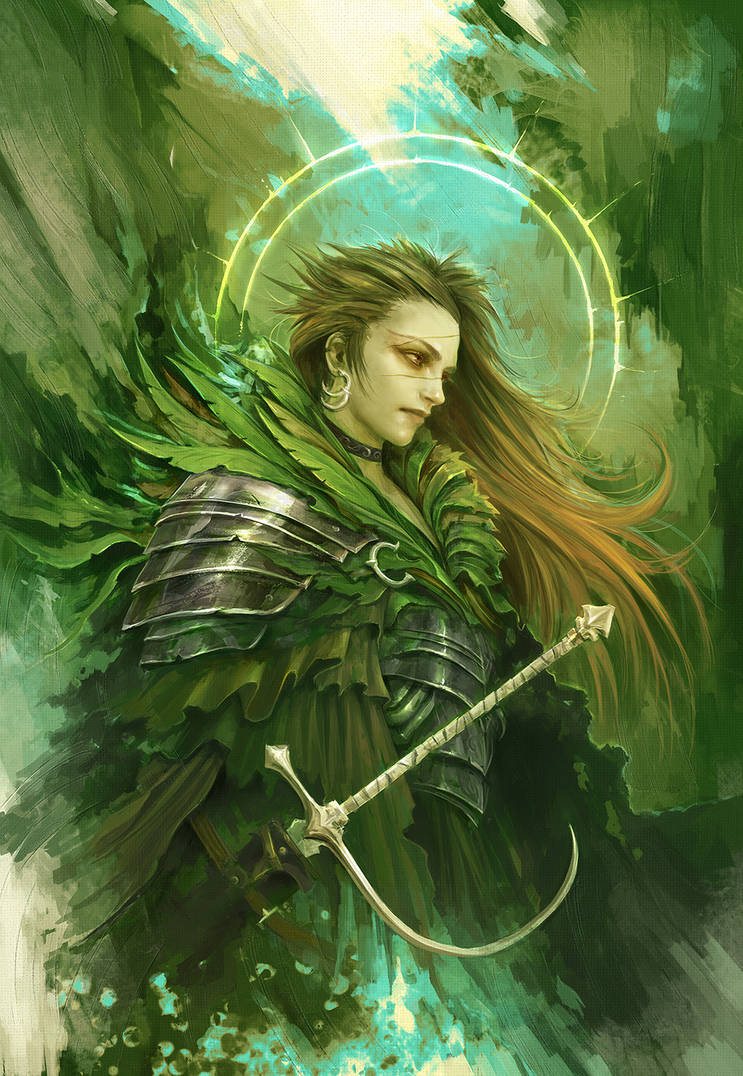 The Green Knight by Eyardt