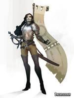 Aspis Order Cavalier - Pathfinder by Eyardt