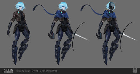 MOON KNIGHT Myune - Concept Gear by Eyardt