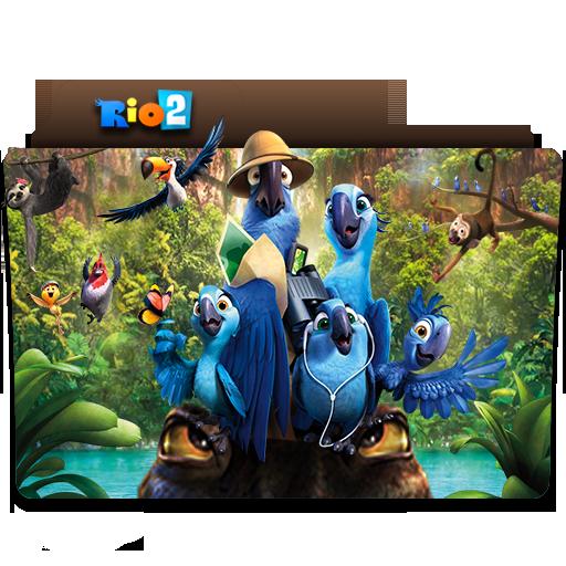 Rio 2 Folder Icon By Jithinjohny On Deviantart