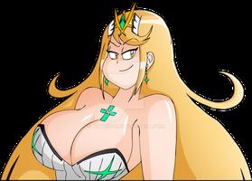 Mythra - Xenoblade [Art-Collab/Fan-Art]