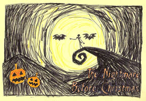 The Nightmare Before Christmas by Aura3107