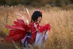 Higanbana cosplay from Onmyoji game by Anya-Kimochi