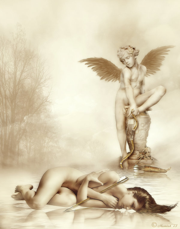 Eros and Psyche by mumiah73 by Realm-of-Fantasy on DeviantArt