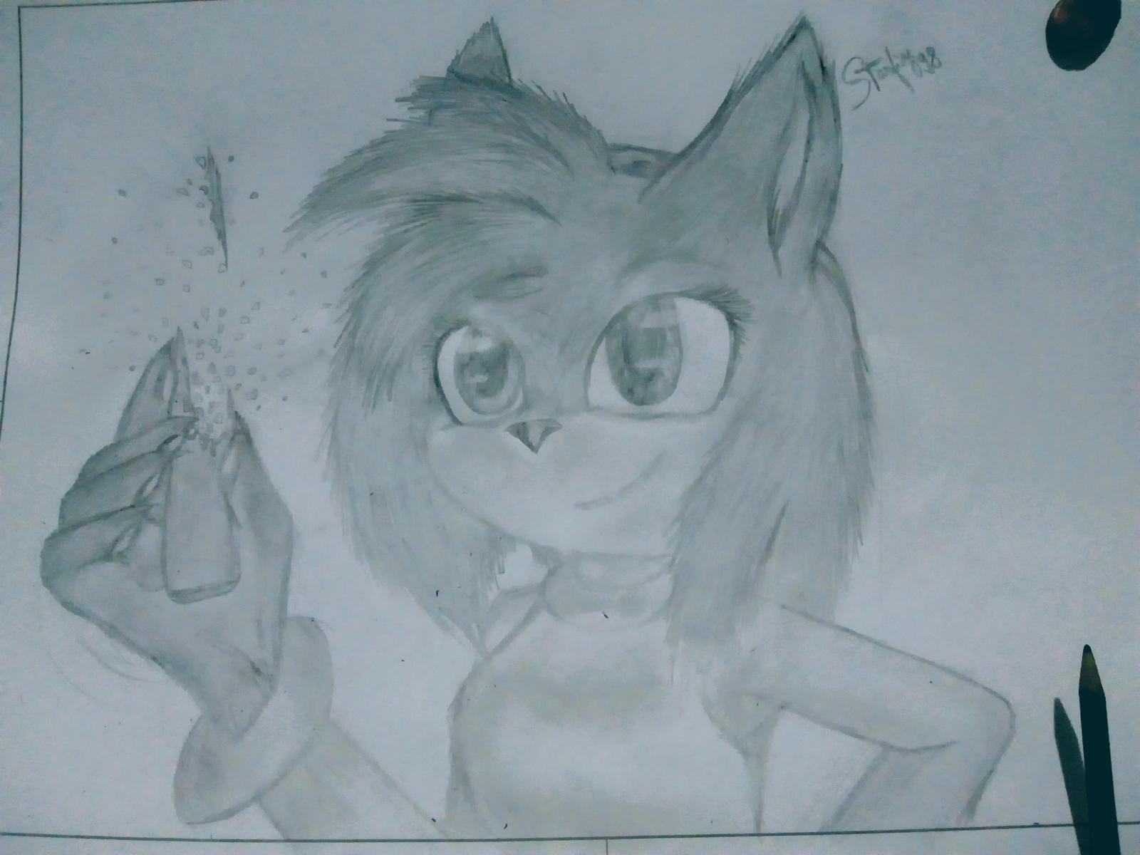 Sonic The Movie Amy Rose Style By Starfire098 On Deviantart