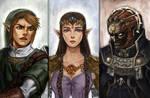 Zelda: Twilight Princess Portraits