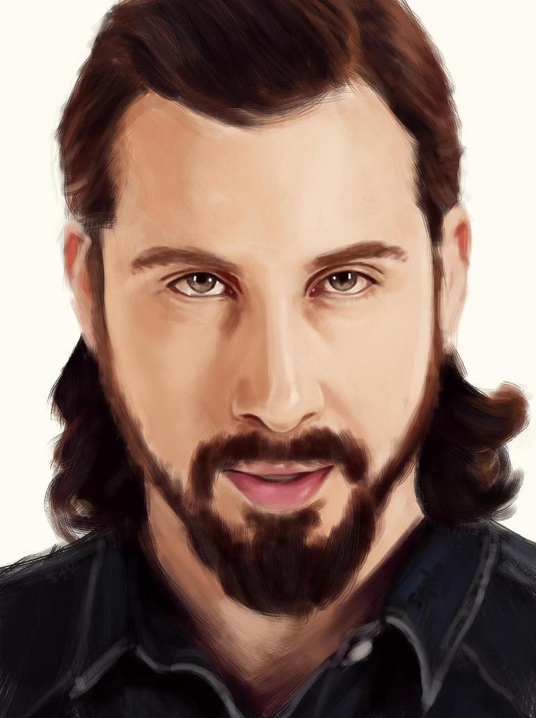 Monday Portrait Painting 9.22.2014 Avi (PTX) by thewordlesssignature
