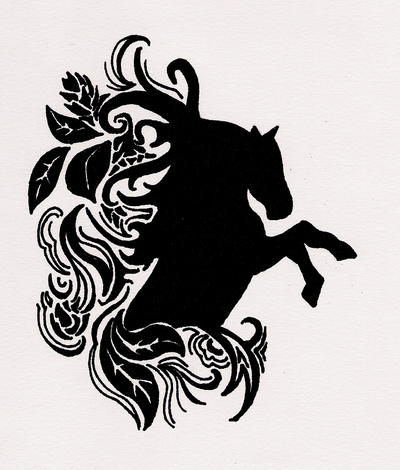 Horse Tattoo By Butterflyemily On DeviantArt