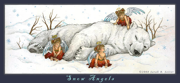 Snow Angels by MisticUnicorn
