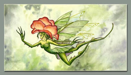 Flying Rose by MisticUnicorn