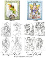 Fairy Coloring Pages Cover Art