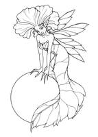 Fairy Coloring Page - sample