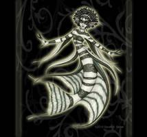 Zebra Angelfish by MisticUnicorn